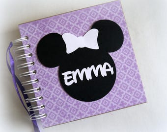NEW ARRIVAL Custom Personalized Disney Autograph Book Scrapbook Travel Journal Vacation Photo Book