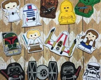 25% off store wide sale Finger Puppets - Star Wars
