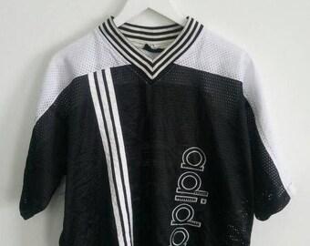 20% OFF Vintage Adidas Jersey 90s Big Logo Hip Hop Swag T shirt