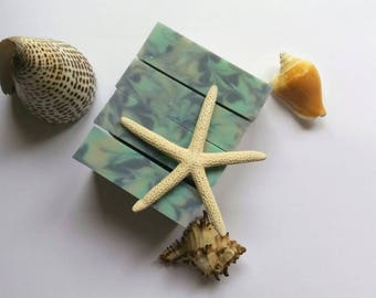 Natural Soap Atlantic Breeze Soap Gentle Soap Ocean Soap Artisan Soap Handmade Soap Cold Process Soap Shea Butter Soap All Natural Soap