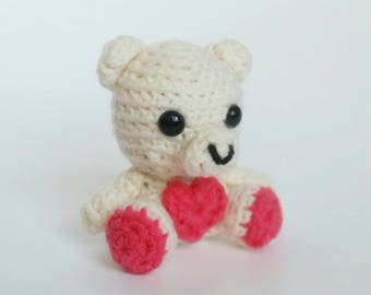 Crochet Polar Bear Amigurumi Plush toy