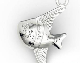 Charm FISH Silver 925