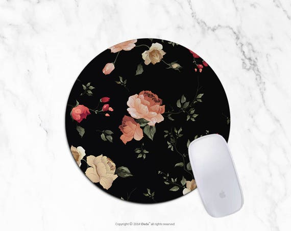 Autumn Mousepad Round Mousepad Rectangle Mouse pad Beautiful Design Floral Mouse pad Cute gift Office Mousemat  3
