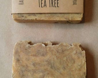 Lemongrass + Tea Tree - Handmade Soap - All Natural