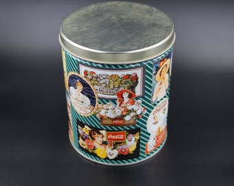 Vintage Coca Cola Montage Tin