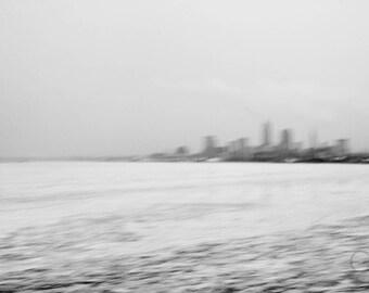 Cleveland Skyline - Blur