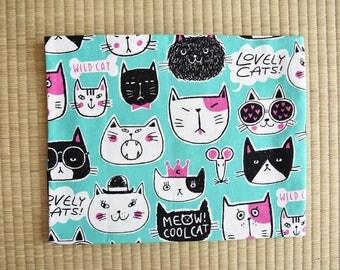 Japan carzy cat Fabric 1/2 yard