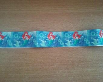 The Little Mermaid (50cm) 25mm Ribbon