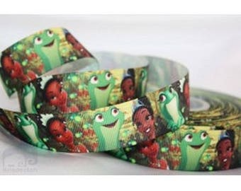 Ribbon Princess and frog (1 m) 22mm