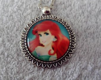 The Little Mermaid necklace / Little mermaid