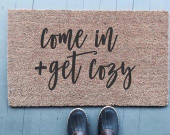 Get Cozy|Doormat
