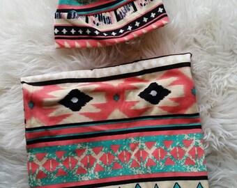 aztec swaddle blanket, aztec blanket,girl swadde blanket,bohemian swaddle blanket, boho blanket, baby girl blanket, newborn blanket