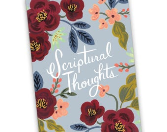 A5 Notebook Scriptural Thoughts, Jehovah's Witnesses, JW Gift, JW Notebook, Pioneer Gift, Best Life Ever, Meeting Notebook