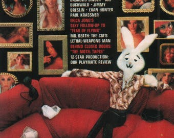 MATURE - Playboy Trading Card January Edt. 1977 - Cover - Rabbit - Card #70