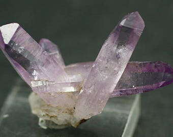 Amethyst Crystal Cluster, Vera Cruz, Mexico.  Mineral Specimen for Sale