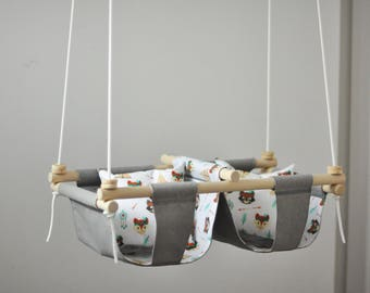 Baby swing for twins :)