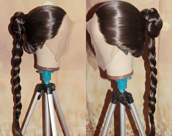 Princess Leia Slave Wig _Made_To_Order_