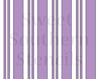 Plaid or Stripe Stencil