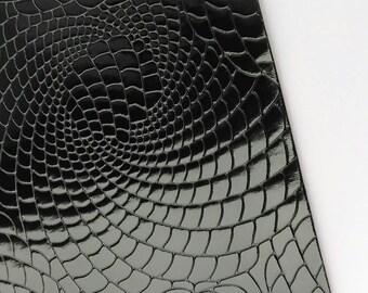 Black swirl vinyl