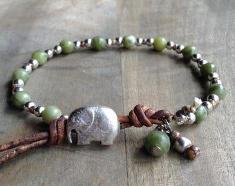 Bohemian bracelet boho bracelet gypsy bracelet rustic bracelet  gemstone womens bracelet hippie bracelet womens jewelry boho chic bracelet