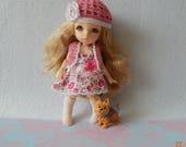 "PukiFee Aquarius Lati Yellow 15-16сm BJD Set ""Flowers ""  for dolls of Tiny format"
