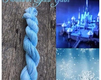 Arendelle hand-dyed cotton yarn