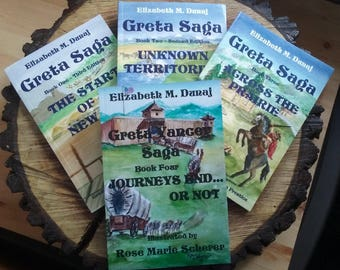 The Greta Yancey Saga, set of four (4), Ride along with Greta on one of the greatest adventures ever! Signed copies, personalized.