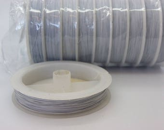 1 reel 100 m 0.30 Tiger tail wire 0.30 mm white color