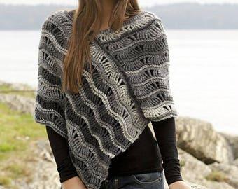 Poncho-Poncho Sweater-Ladies Poncho-Womens Poncho