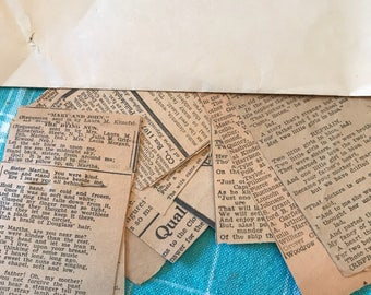 1930 newspaper clippings