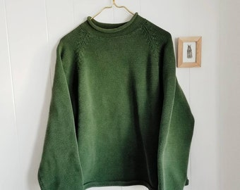 Evelyn Forrest Green 90s Pullover