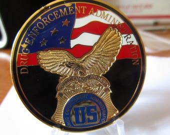Drug Enforcement Agency Clandestine Laboratory Team DEA Challenge Coin #2847