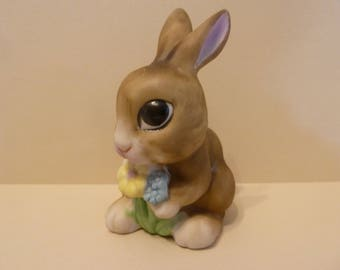 Bunny Holding Flowers, By: Enesco