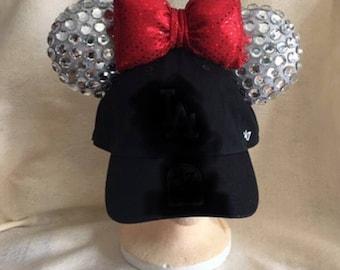 Baseball hats with Mickey/Minnie ears