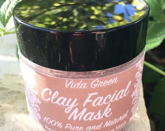 Dry Clay Mask, Vegan Clay Mask, Face Mask, Mask, Mud Mask, Spa Mask, Skin Detox, Skincare Routine, Natural Mask, Home Spa, Clear Skin
