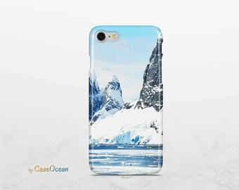 Mountain phone case, iPhone X 8 7 6 6s Plus phone case iPhone 5 5s SE phone case Samsung Galaxy S8 Plus S7 Edge S6 S4 S3 mountain phone case