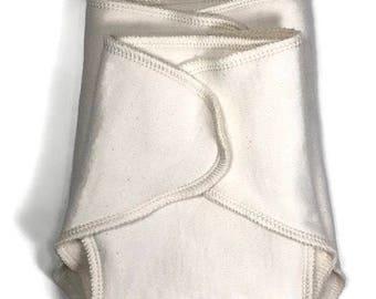 Bamboo cotton fleece contour flat cloth diaper