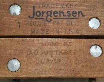 Vintage Jorgensen #1 Wood Clamp