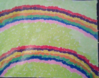 Chigiri-e    double rainbows