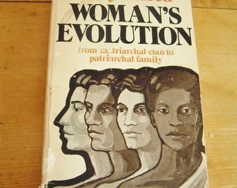 Vintage Woman's Evolution from Matriarchal Clan to Patriarchal Family Book by Evelyn Reed 1975 First Edition