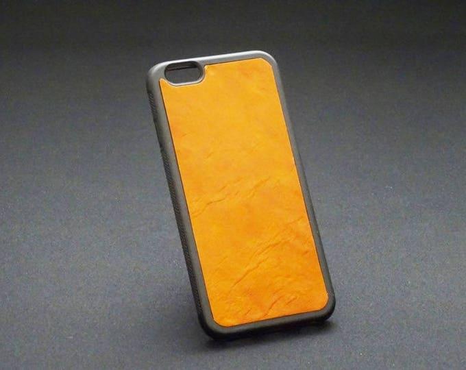 Apple iPhone 6 6S - Jimmy Case in Whiskey Tan - Kangaroo leather - Handmade - James Watson