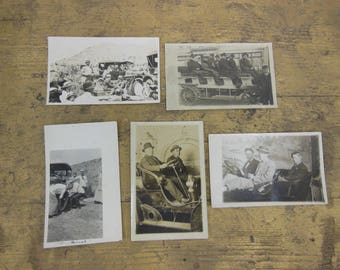Vintage Travel Photo/Post Cards From Early 1900's