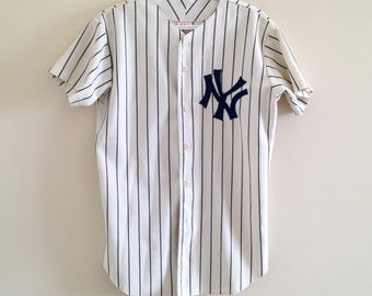 "NY Yankees ""A BIg Hit"" Vintage Replica Ron Guidry Baseball Jersey"