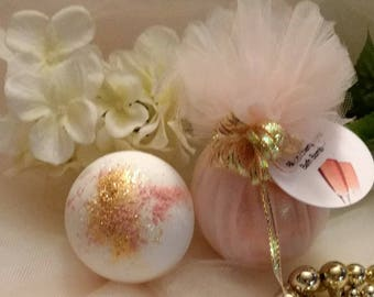 Blush Champagne Bath Bomb~Bridal Shower Favors~Proposal Box Favors~Champagne Bridal Shower Favors~Gold Blush Bath Bomb~Champagne