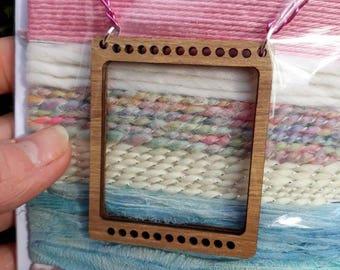 Pastels mini loom necklace kit