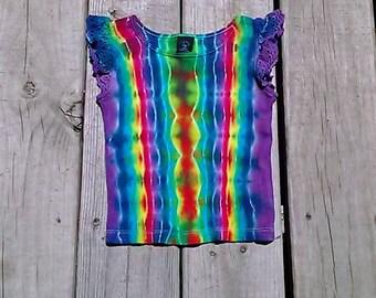 Tie Dye toddler rib knit shirt size 3T