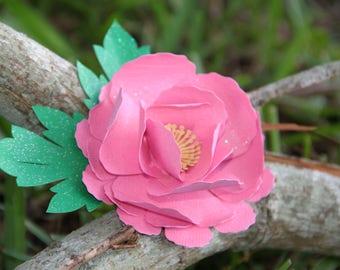 Paper Flower Peonies Cardstock