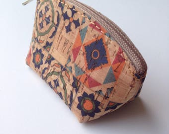 Cork  Purse - Natural Material - Portugal Typical