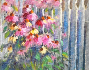 Flower Painting, Original Painting, Oil Painting, Original Paintings, Oil Paintings, Flowers, Oil on Canvas, Plein Air, Small, Sue Whitney