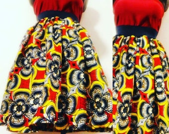 Skirt fabric African wax
